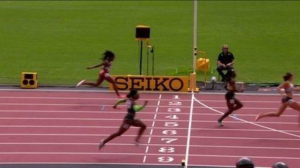 Brasil se classifica para final no revezamento feminino 4x100m no Mundial em Londres