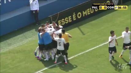 Corinthians vence clássico contra o Palmeiras pelo Campeonato Paulista sub-20