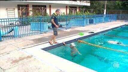 Piauiense disputa competição internacional de natação