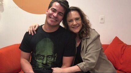 Elizabeth Savala e Thiago Martins comentam relação de mãe e filho em 'Pega Pega': 'Conturbada, mas de muito amor'