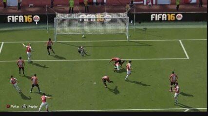 Assista aos gols do futebol virtual enviados pelos internautas do GloboEsporte.com