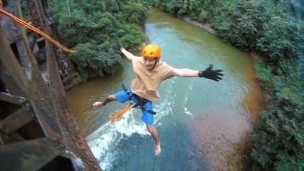 Em Movimento: Pêndulo é opção de aventura em Viana