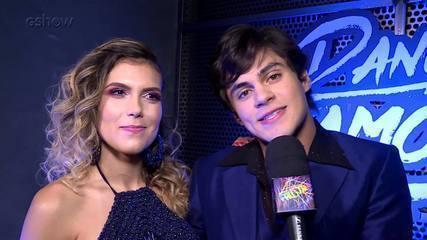 Lucas Veloso comenta sua média 10 na estreia do Dança dos Famosos