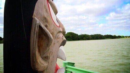 Conheça a tradição da Esmola Cantada e a lenda das carrancas