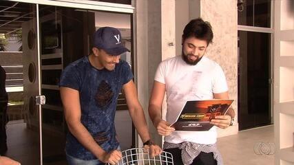 Dupla Bruno César e André disputa o concurso