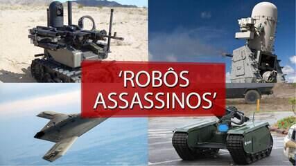 Quem são os 'robôs assassinos' ?