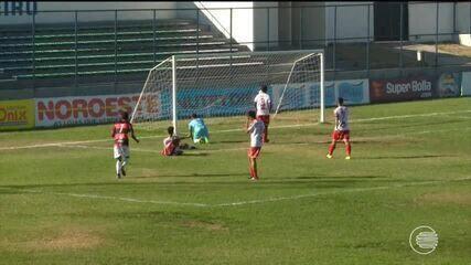 Flamengo e 4 de Julho empatam pela Copa Piauí nesta tarde