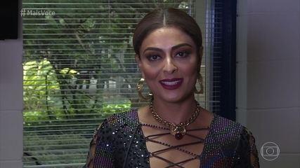 Juliana Paes mandou recado para Elizangela
