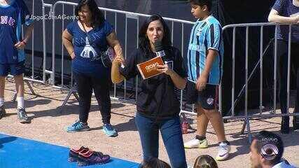 Globo Esporte leva modalidades esportivas à parque de Porto Alegre; reveja a íntegra