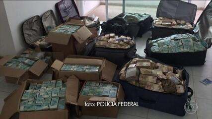 PF encontra malas e caixas de dinheiro em apartamento que seria usado por Geddel na BA