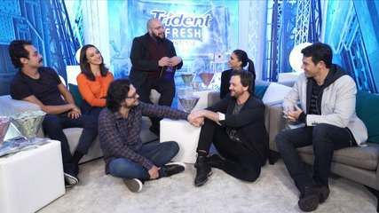 FInalistas conversam com Tiago Abravanel no Fresh Room Trident