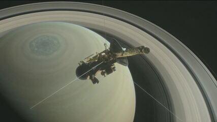Missão em Saturno chega ao fim, com informações que ajudam a explicar origem da Terra