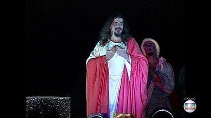 José Pimentel anuncia que não vai mais interpretar Jesus na Paixão de Cristo do Recife