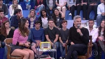 Otaviano Costa conta que o programa 'Amor & Sexo' apimentou relação com Flávia Alessandra