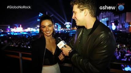 Thiago Fragoso entrevista Isis Valverde no Rock in Rio