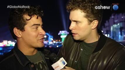 Thiago Martins fala de musica nova com xará Thiago Fragoso