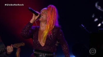 Alicia Keys canta 'Try to sleeping with a broken heart' no Rock in Rio