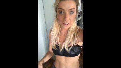Luiza Possi assume rede social do Gshow e mostra sua rotina