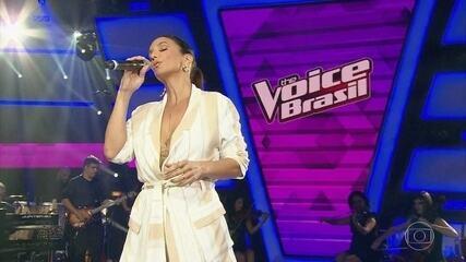 Ivete Sangalo cantou a linda: 'Se Eu Não Te Amasse Tanto Assim'