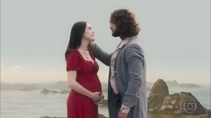 Anna espera um filho de Joaquim