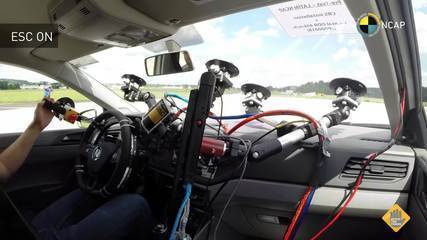 Volkswagen Polo passa por teste do controle de estabilidade
