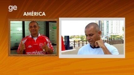 """Carioca fala sobre o América-RN no quadro """"Retrato Revelado"""""""