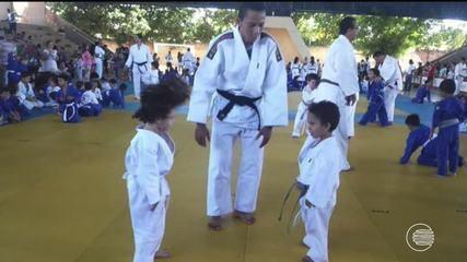 Judoca piauiense abandona os tatames por luta contra a leucemia