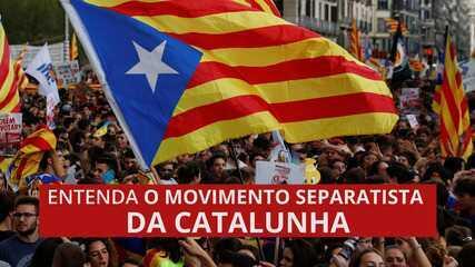Entenda o movimento separatista da Catalunha