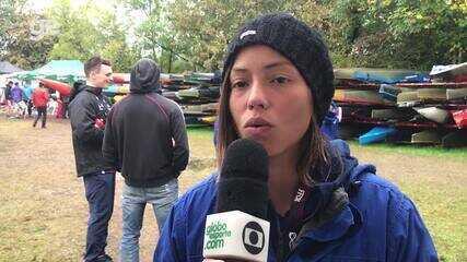 Ana Sátila comenta queda na semi do K1 do Mundial de Slalom