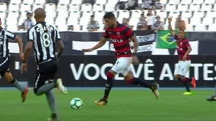 Melhores momentos de Botafogo 2 x 3 Vitória pela 26ª rodada do Brasileirão