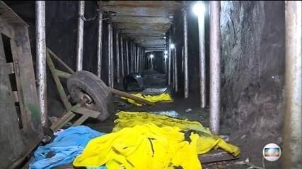 Polícia de SP descobre túnel que levava a cofre do banco do Brasil