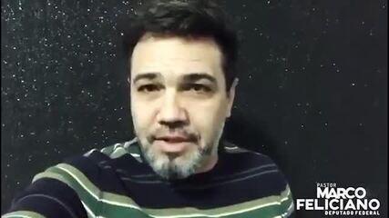 Deputado Federal Marco Feliciano fala sobre derrubada de igreja na Vila Planalto