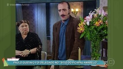 Paulo Gustavo revê participação no 'Sítio do Picapau Amarelo'