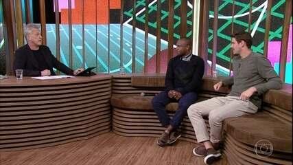 Thiaguinho e Bruninho falam sobre grupo de amigos no WhatsApp