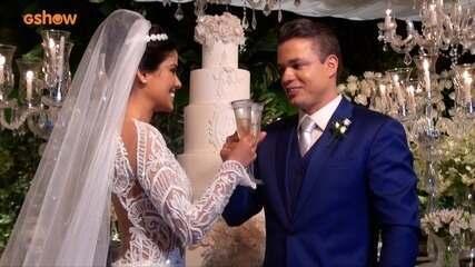Veja como foi o casamento de Munik Nunes e Anderson Felício