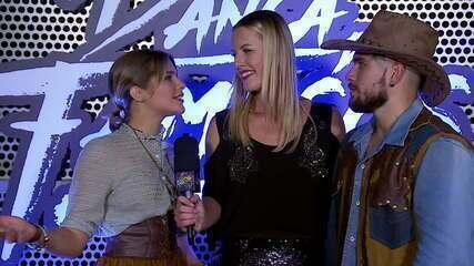 Mulheres repercutem o ritmo country no 'Dança dos Famosos'