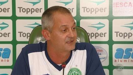 Guarani apresenta Lisca como novo técnico do time; estreia será contra Náutico