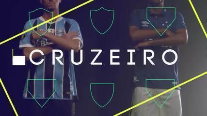 Globo Minas mostra Grêmio x Cruzeiro, nesta quarta, pelo Campeonato Brasileiro