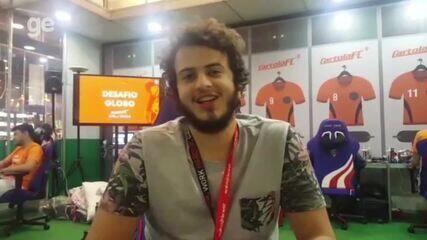 O estudante Guilherme Moura conta como está sendo sua experiência no BGJ
