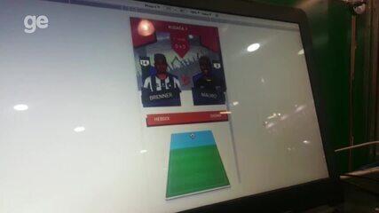 Daniel Ferreira, estudante de jogos digitais, explica o que sua equipe criou para o BGJ