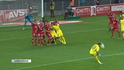 Os melhores momentos de Dijon 1 x 2 PSG pela 9ª rodada do Campeonato Francês