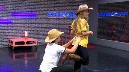 Confira os erros dos ensaios da semana country do 'Dança dos Famosos'