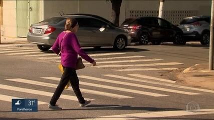 Metade de todas as mortes no trânsito da capital em setembro foi de pedestres