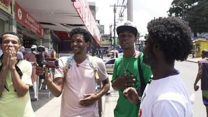 O 'Vumbora' desbrava o bairro de Sussuarana