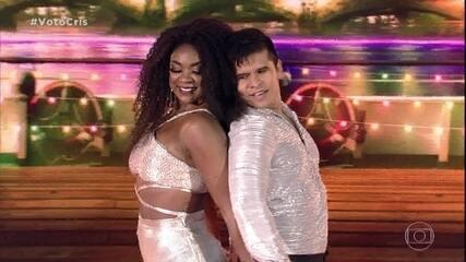Cris Vianna e Rodrigo Pianço mandam bem no zouk