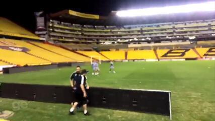 Boletim de Guayaquil: saiba como foi o 1º treino do Grêmio no Equador