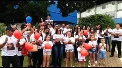 Aluna baleada em escola ganha festa de aniversário em hospital de Goiânia