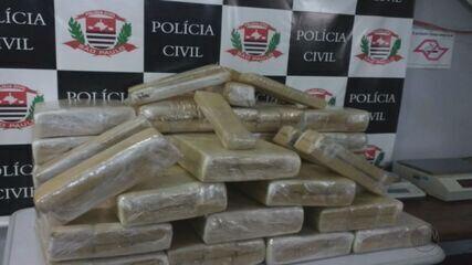 Dise apreende 217 quilos de maconha em casa de Araraquara, SP