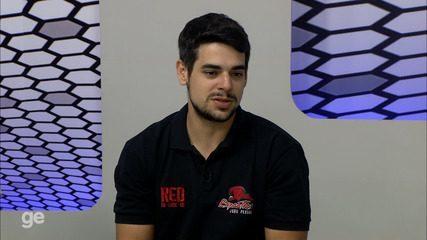 BLOCO 3: Kevin fala da convocação de nove atletas do Espectros para jogo do Brasil contra Argentina