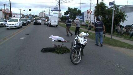 Motociclista morre atropelado na Via Expressa, em Maceió